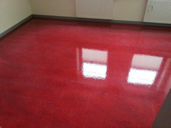 Linoleum Boden Neu Versiegeln Direkt Vom Handy Dr Schutz Linoleum