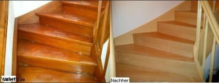 Alte Holztreppe Schritt für Schritt Sanieren und Renovieren