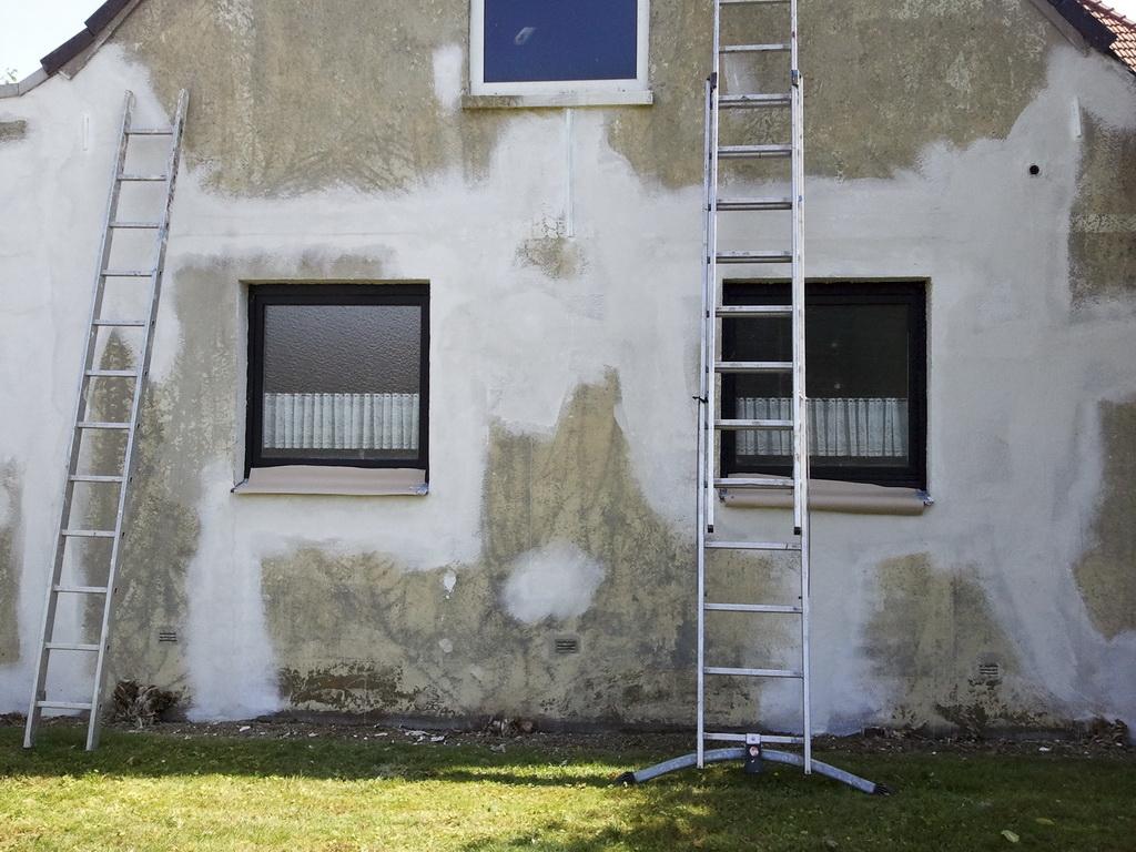 Fassade Streichen Direkt Vom Handy