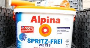 Ich hab die neue Alpina Spritz Frei Farbe getestet