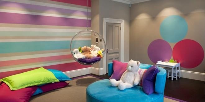 jugendzimmer blau streichen: wandfarbe türkis tolle bilder., Moderne deko
