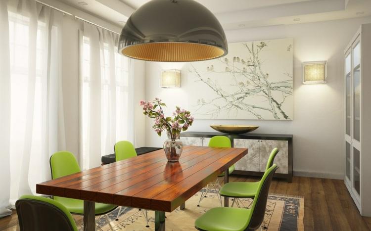 Wandfarbe Für Esszimmer 72 gute interieur ideen grüne wandfarbe