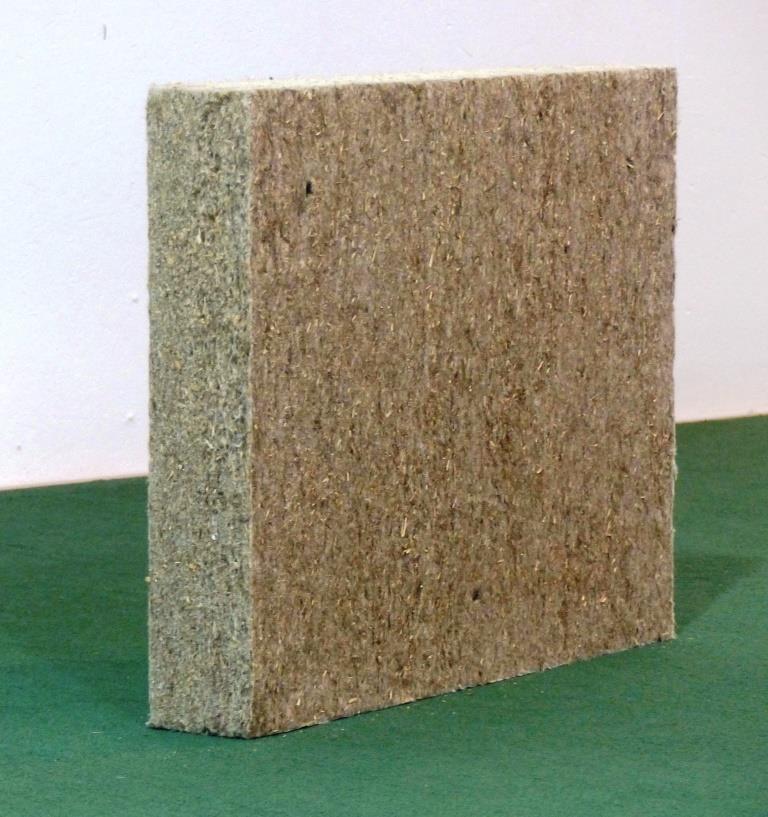 Vollwert-Dämmstoff: Hanf duftet wie Heu, wächst vier Mal schneller als Holz und kann außer zu Nahrungsmitteln auch zu vielen nützlichen Dingen des täglichen Bedarfs verarbeitet werden: Die neue Capatect Hanffaser-Dämmplatte beispielsweise besteht zu 89 Prozent aus Hanffasern sowie zu elf Prozent aus synthetischem (PE-Fasern) oder rein pflanzlichem Stützgewebe (Maisfasern).