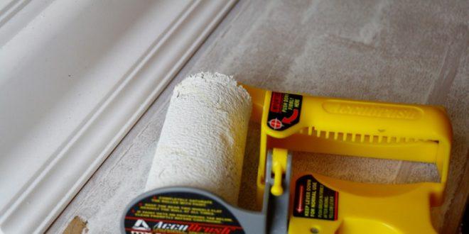saubere farbkanten beim streichen mit dem accubrush werkzeug accubrush beschneiden streichen. Black Bedroom Furniture Sets. Home Design Ideas