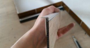 Fliesen Sockel verstecken, eine elegante Lösung.