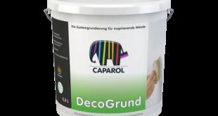DecoGrund – Spezial-Grundierung für dekorative Lasur- und Strukturbeschichtungen